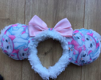 Disney Marie inspired ears!
