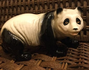 An impressive bone China Chinese panda