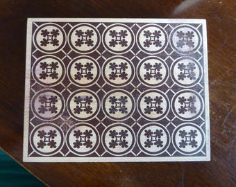 Tile Stamp by Stampa Rosa K Ren BG23 (discontinued)