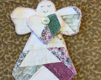 Adorable handmade angel ornaments!