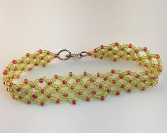 Adorable Handmade Lattice Bracelet