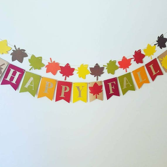 Thanksgiving banner,fall birthday banner,fall decor,happy ...