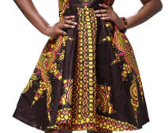Shiraz African Dress