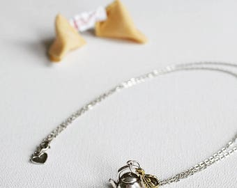 "Long necklace ""lucky dog"""