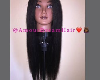 Straight Hair U-Part Wig