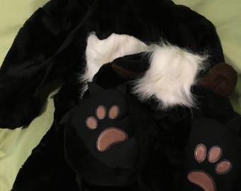 Vintage Anne Geddes skunk costume