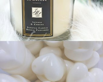 Incense & Embers Jo Malon dupe wax melts x3 luxury designer highly scented