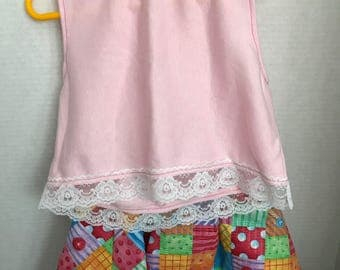 Little Girl top and skirt