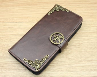 The Hunger Games Mockingjay Bird Wallet PU Leather Handmade Stand Case Cover For Apple iPhone 6 / 6S / 7 / 6 Plus / 6S Plus / 7 Plus