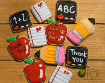 End of School Year Sugar Cookies