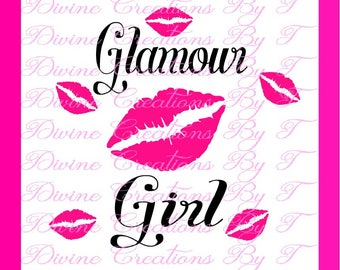 Glamour Girl SVG (made by me )