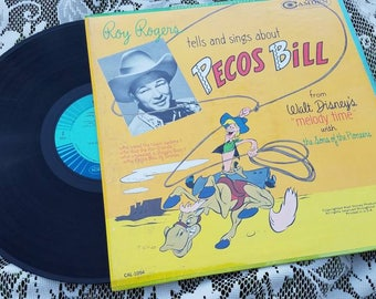 Roy Rogers, Pecos Bill, Johnny Appleseed 1949 album, Disney Melody Time