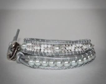 Wrap bracelet, bracelet, handmade
