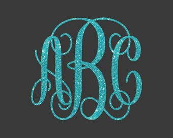 Interlocking Vine Monogram Svg files,Monogram fonts, svg fonts, svg files for silhouette, vine monogram font, Cricut monogram fonts