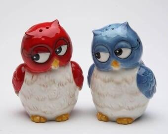 Owl Salt and Pepper Shaker Set (10907)
