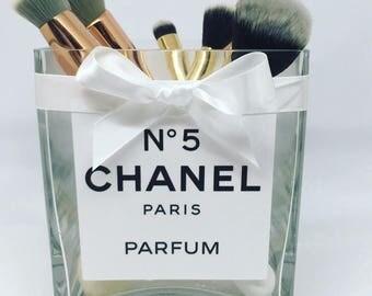 Chanel no5 Paris parfum make up brush holder