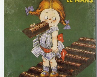 Chocolate Besnier Vintage French Poster Print