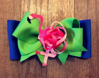 flamingo bow