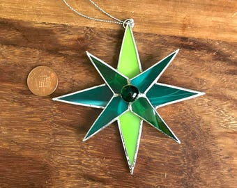 Lovely stained glass star