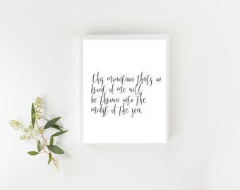 Printabe Wall Art, Chrisitan, Song Lyric, Hillsong, It Is Well, Inspirational Home Decor, Trending Now,