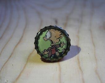 Calvin and Hobbes pin 3