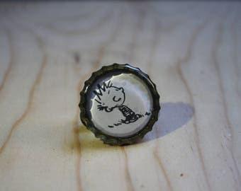 Calvin and Hobbes pin 4