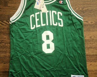 Antoine Walker Deadstock Champion Jersey 44 NWT Vintage Boston Celtics NBA