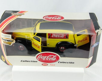 Matchbox Collectibles Coca Cola 1940 Ford Delivery 1/18 Diecast Car