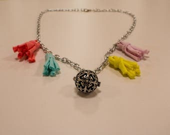 """""""Angels"""" - casual line necklace"""