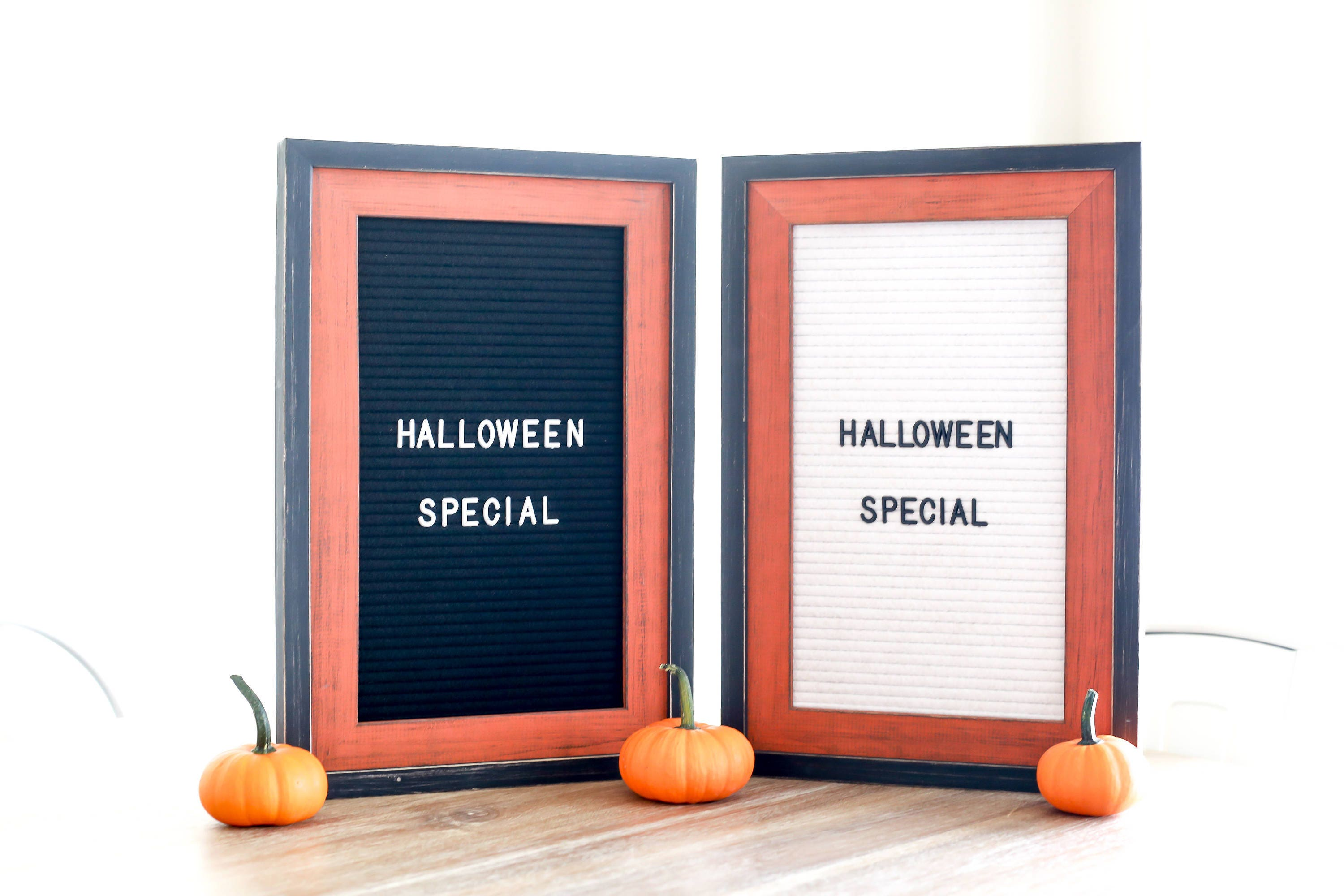 Letter board - 12x18 Black Felt - Halloween Special frame - The ...