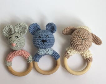Rattle/Teether for little ones