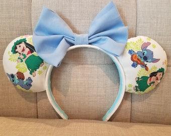 Lilo & Stitch Hula Mickey Ears