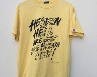 Andy Warhol Heaven and Hell Are Just One Breath Away Shirt