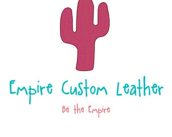 Empire Custom Leather Shirt Patch