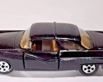 Vintage ERTL 56 Crown Victoria Replica 1:64 Black Toy Car Collectible