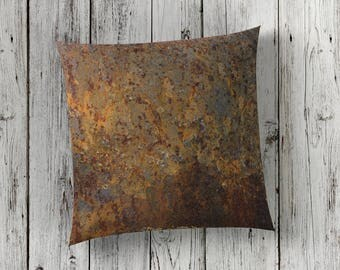 Rust Print Cushion