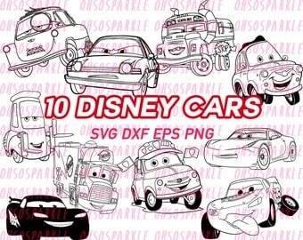 Lightning Decal Etsy - Lightning mcqueen custom vinyl decals for car