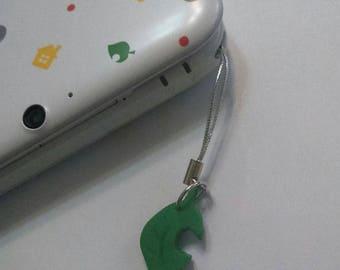 Animal Crossing Leaf Charm - Polymer Clay