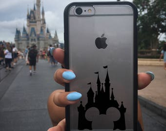 Mickey Mouse Decal, Mickey Decal, Disney Mickey Mouse Sticker, Disney Mickey Decal, Phone Cover, Disney Stickers, Disney Vinyl Decals,Castle
