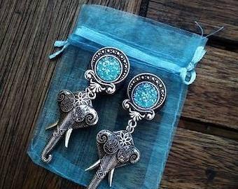 Blue elephant plugs