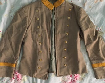 Beige Marching Band Jacket