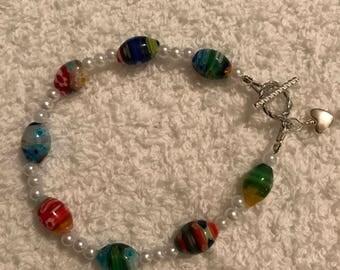 Hand headed bracelet