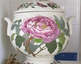 Vintage Portmeirion Botanic Garden Shrubby Peony tureen pottery collectable items