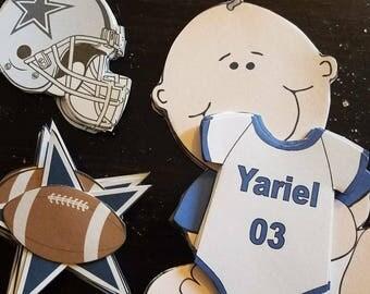 Cowboys INSPIRED cutouts