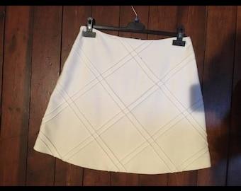 ZAPA white skirt