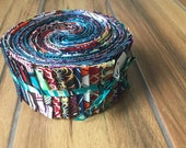 Tera Collection African Wax Print Jelly Roll
