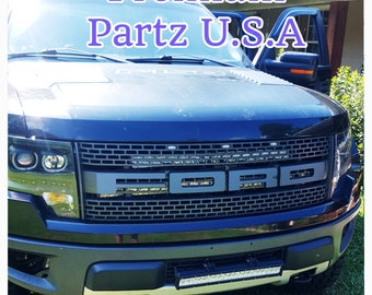 Ford F150 Raptor SVT Grill Decal Overlays New High Quality 4 Letters USA Seller/