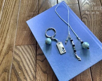 Mermaid Bookmark & Chain Set