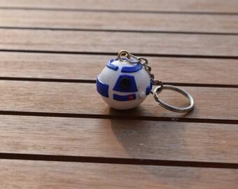 R2D2 Death Star Keyring