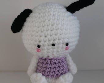 Handmade Sanrio Hello Kitty Friends Crochet Pachacco Amigurumi Doll